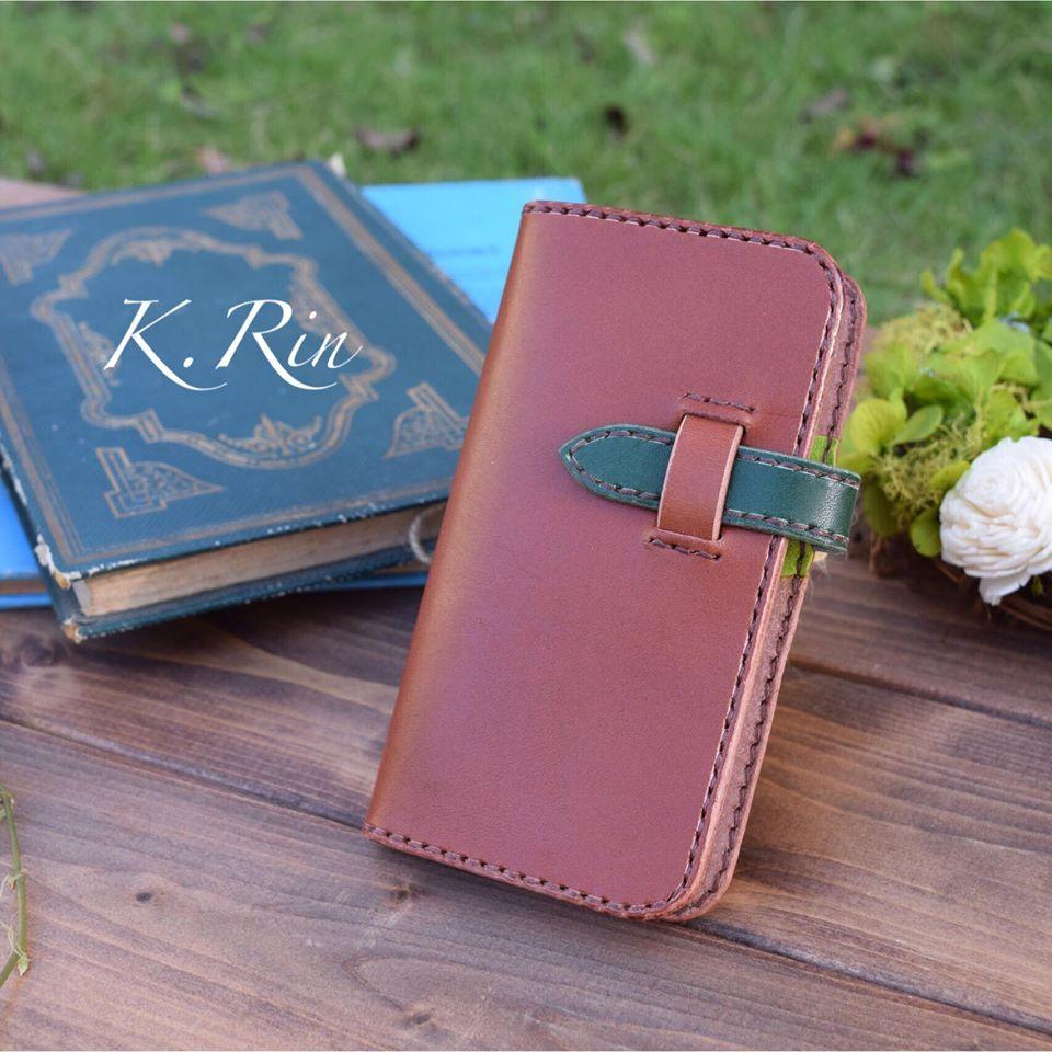 手帳型スマートフォンケース カードスペース付き!(iphone5・5s・se) (KA077c2)