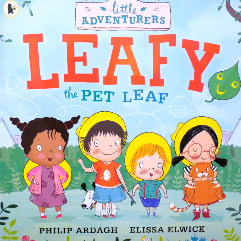 Leafy the pet leaf