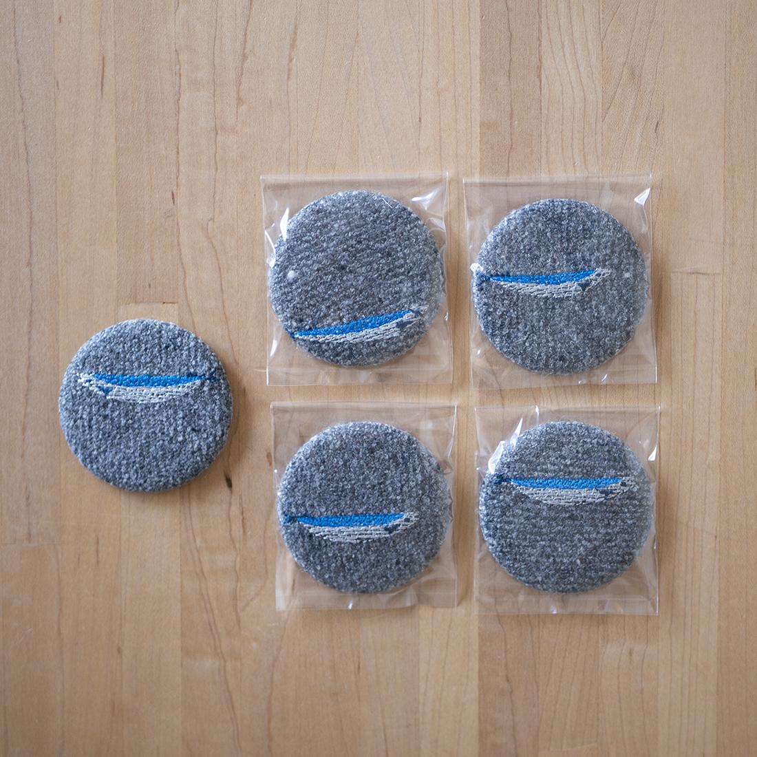 缶ミラー(小) サンマ/サンマ1匹
