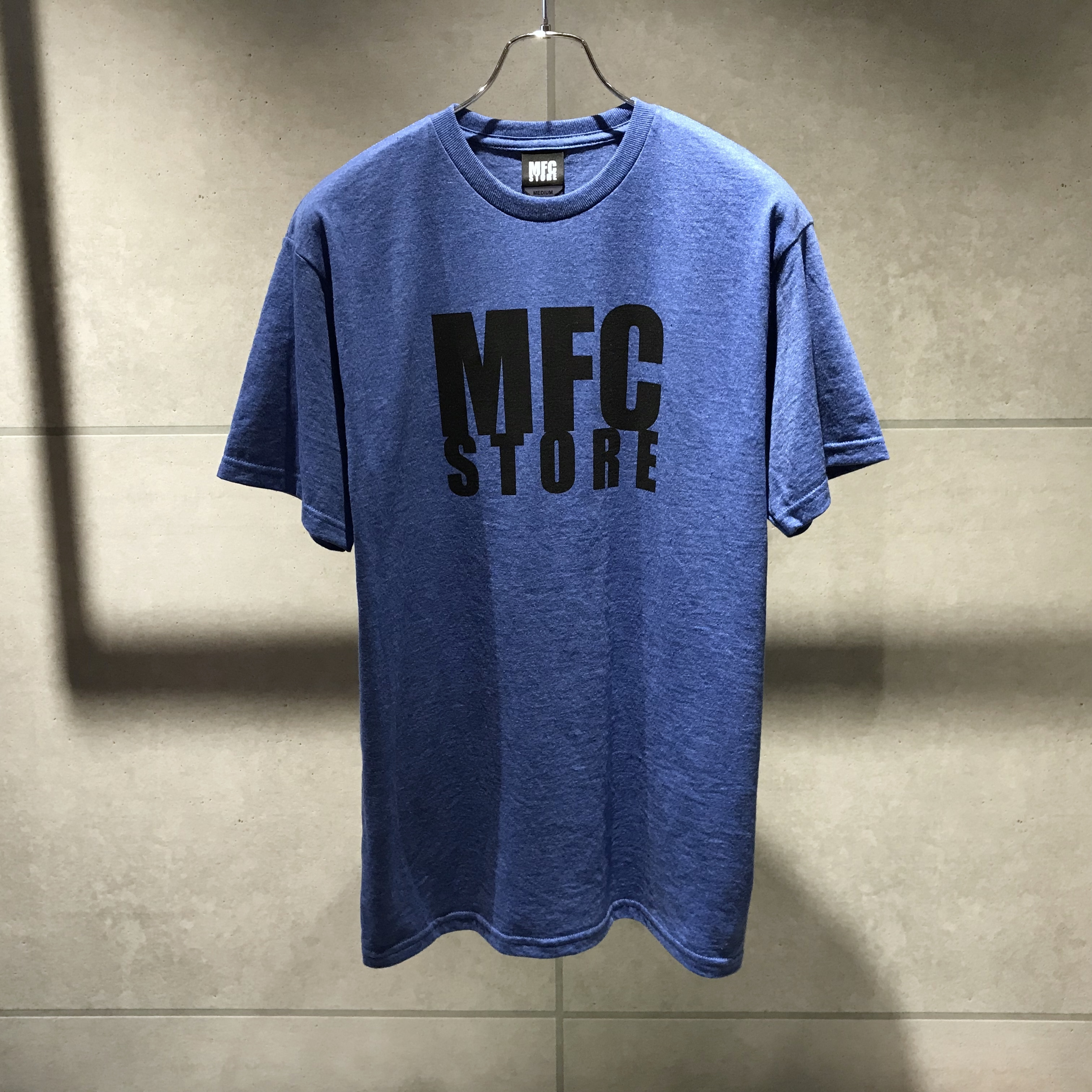 MFC STORE LOGO TEE / ROYAL Heather
