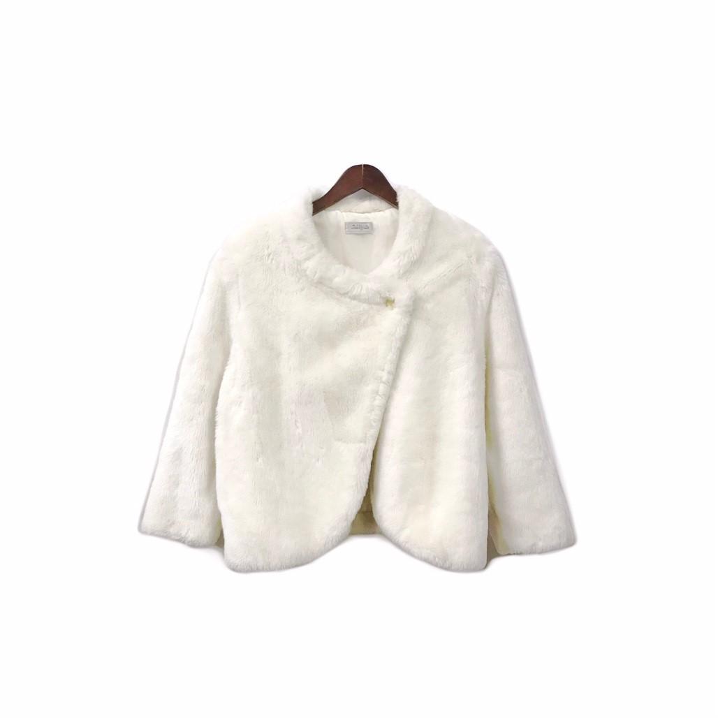 USED - Fake Fur Jacket ¥10500+tax