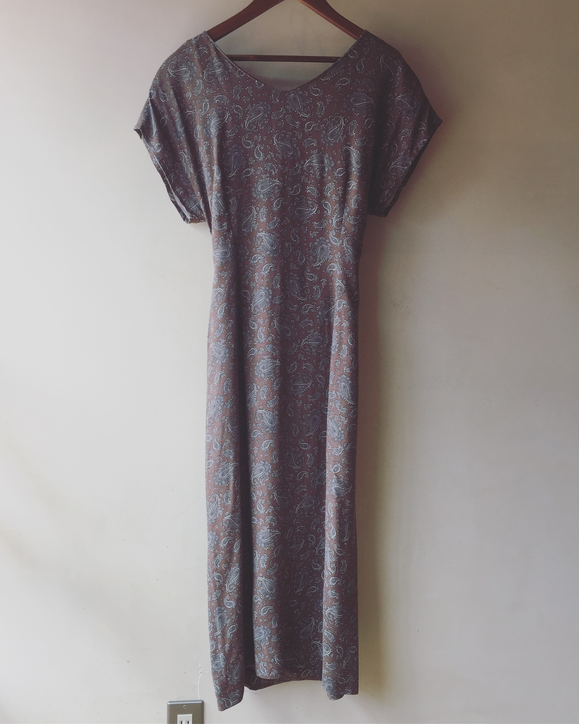 vintage paisley onepiece