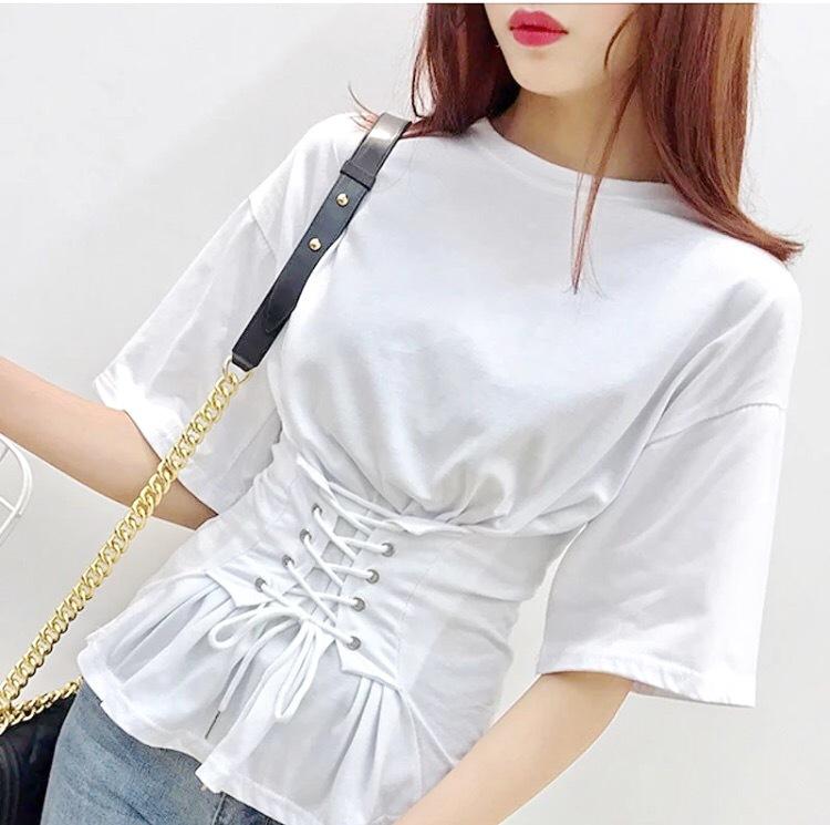 2017ss corset T-shirt