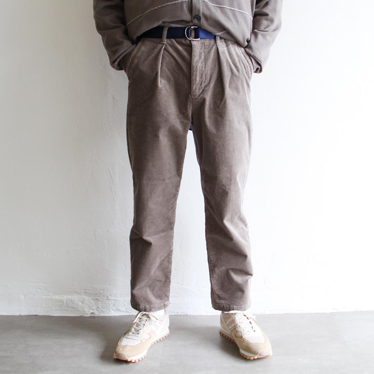 STILL BY HAND【 mens 】corduroy pants