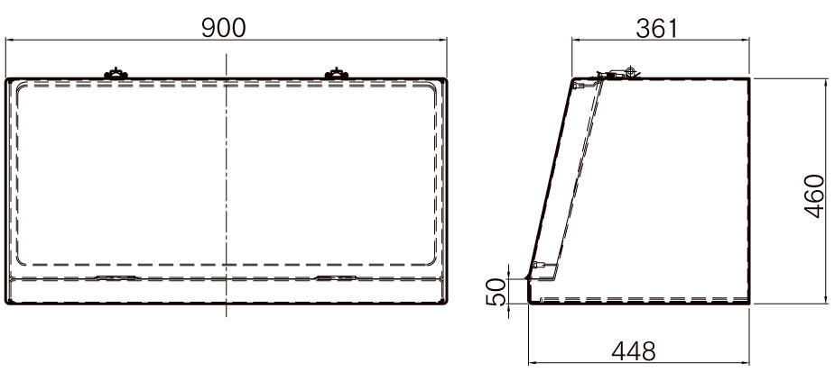 FRP工具箱【NPF-900 黒】