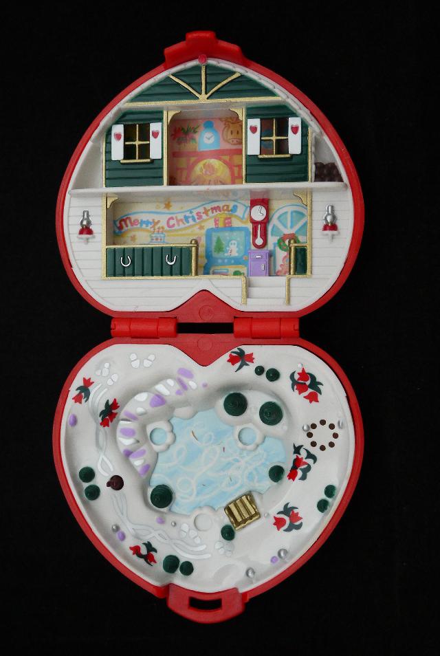 ポーリーポケット 1989年 クリスマス 完品