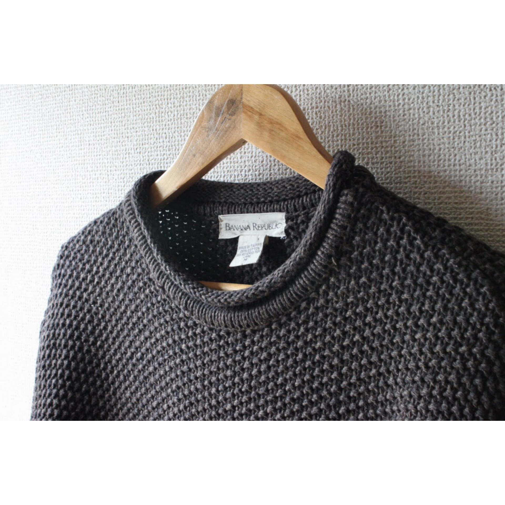 Vintage cotton knit sweater by BANANA REPUBRIC