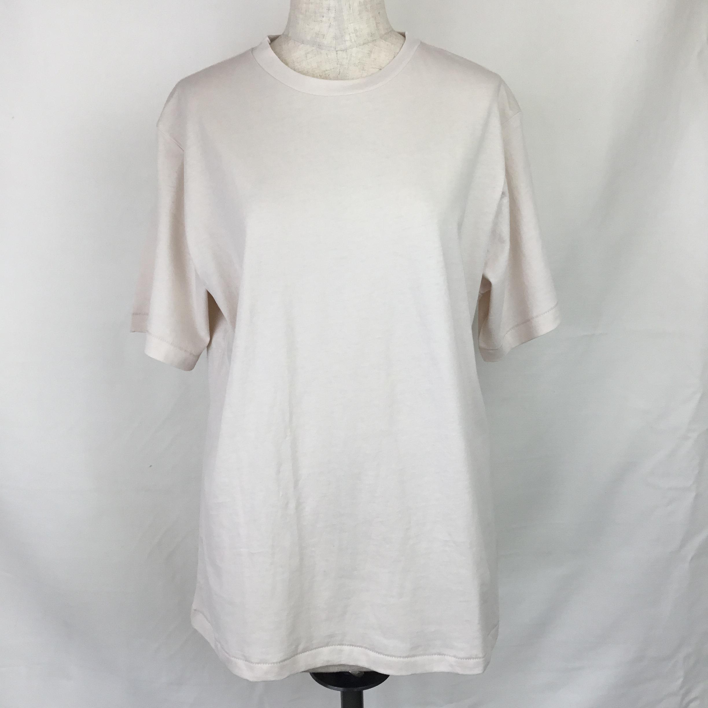 クルーTシャツ(ベージュ)