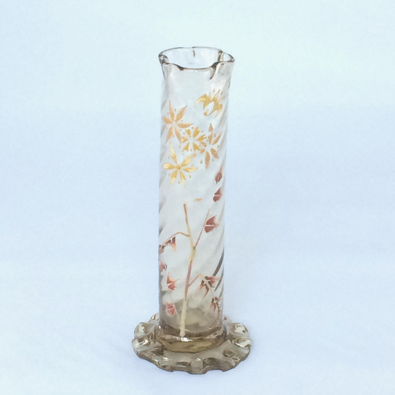 エミール・ガレ エナメル彩花文花瓶(1884年〜1889年作) | ショップ名 ...