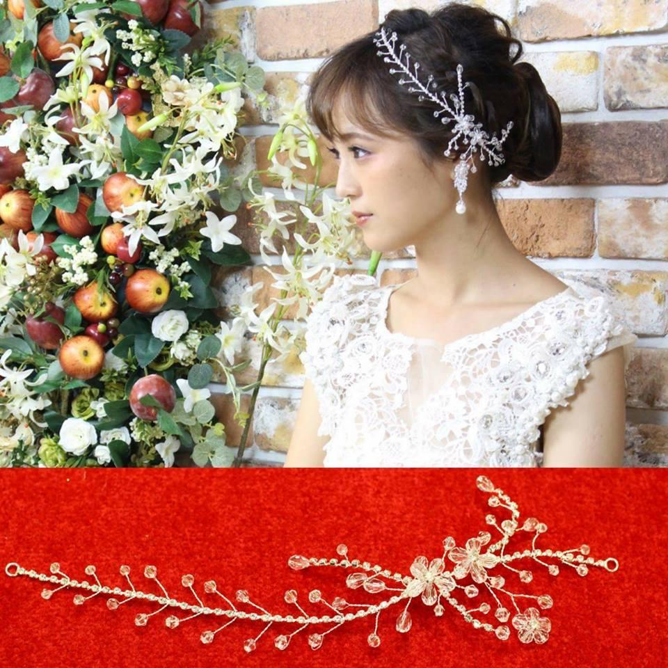 プティ・プティトゥ ウェディングヘッドドレス   (hd0059)