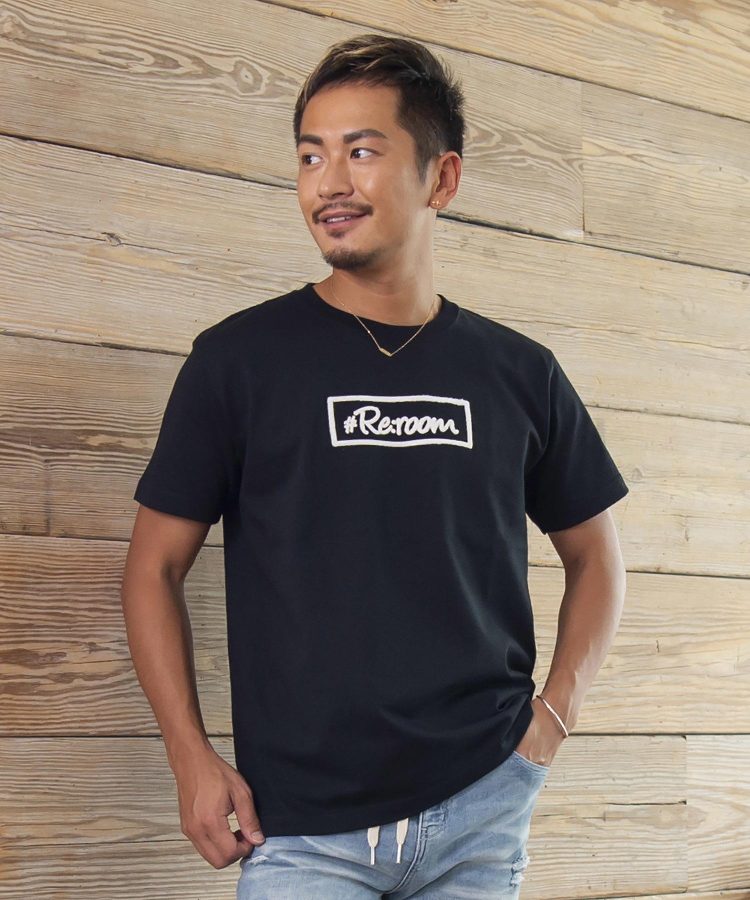 BOX LOGO SHAGGY PRINT T-shirt[REC192]