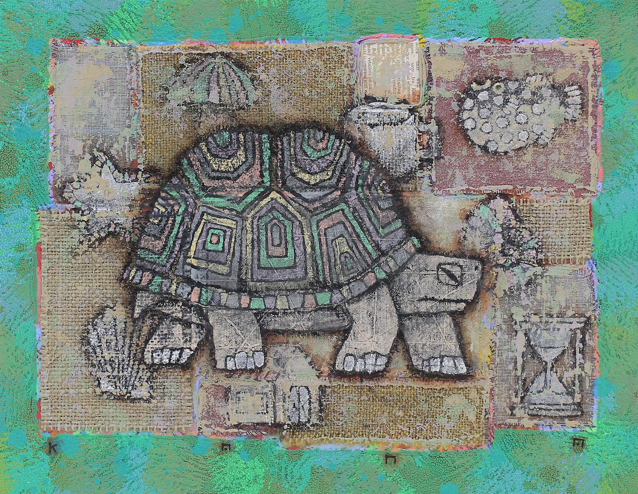 金丸悠児「Tortoise plus Icons at random」