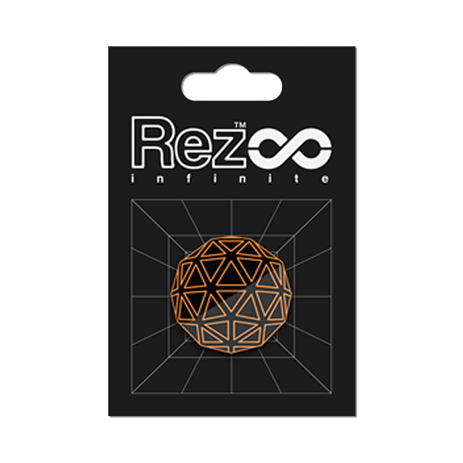 【Rez Infinite】ピンバッジ(Player Form 00) - 画像1