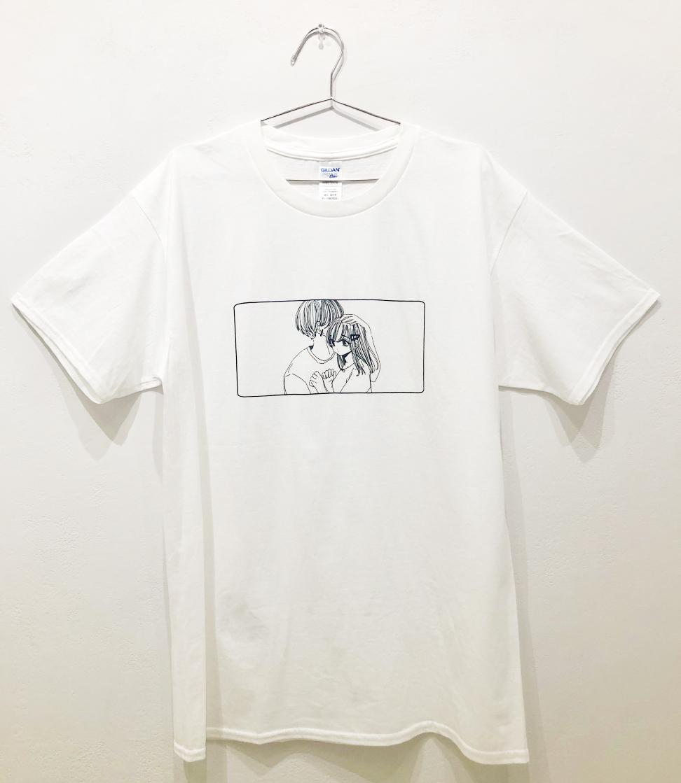 ふせでぃ / 〔Tシャツ-B〕白、黒 / M、XL