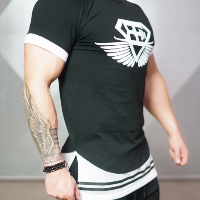 BODY ENGINEERS NOX lifestyle shirt – Black & White