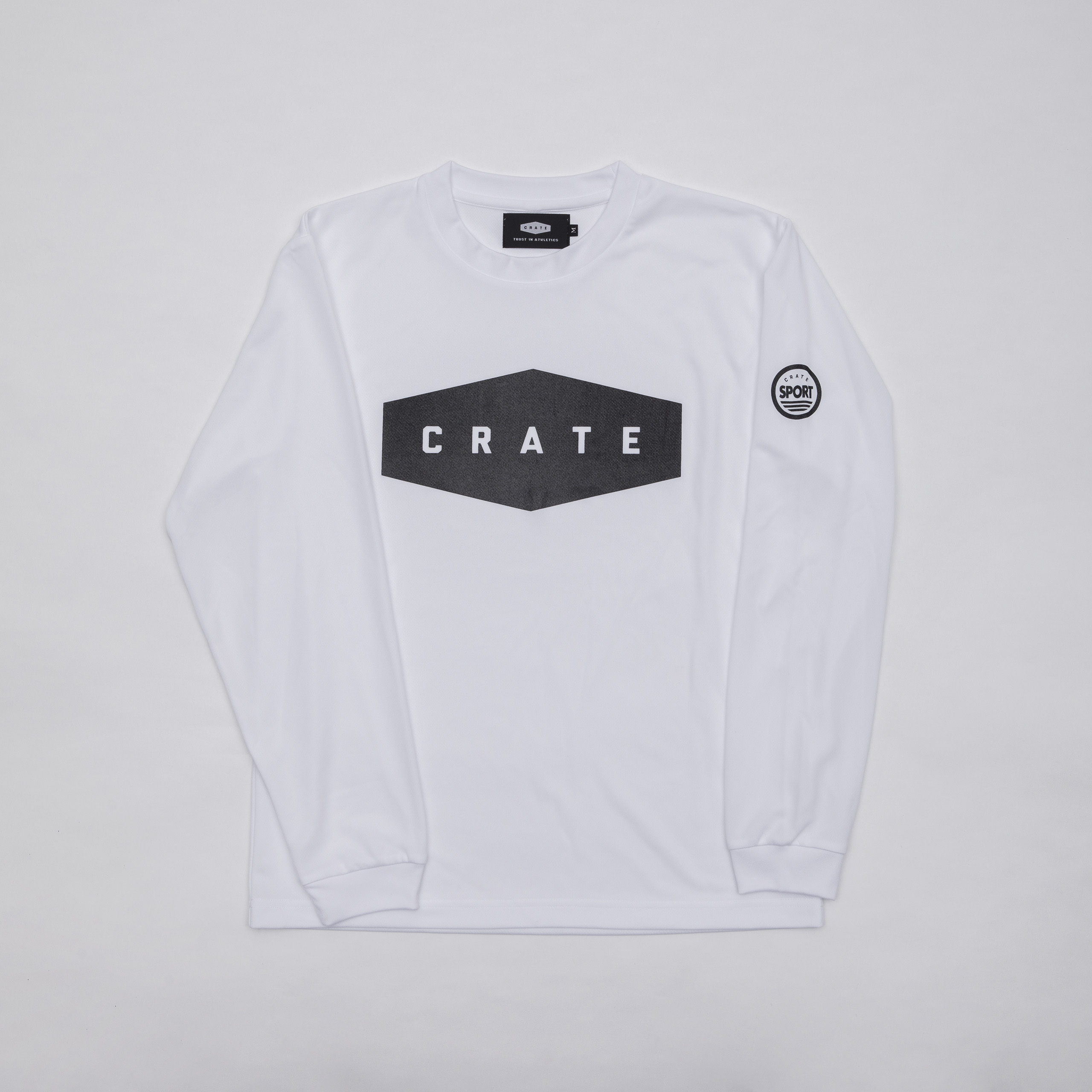 Crate Mesh L/S Tshirt
