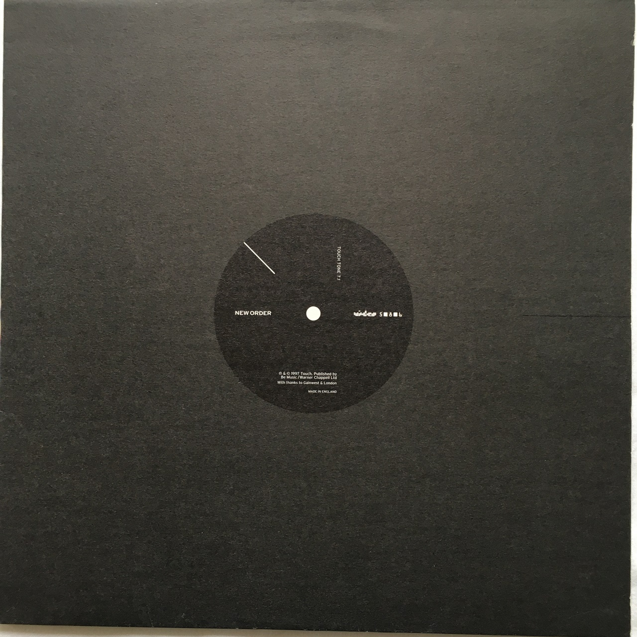 【12inch・英盤】New Order (Joy Division)  / video 5-8-6