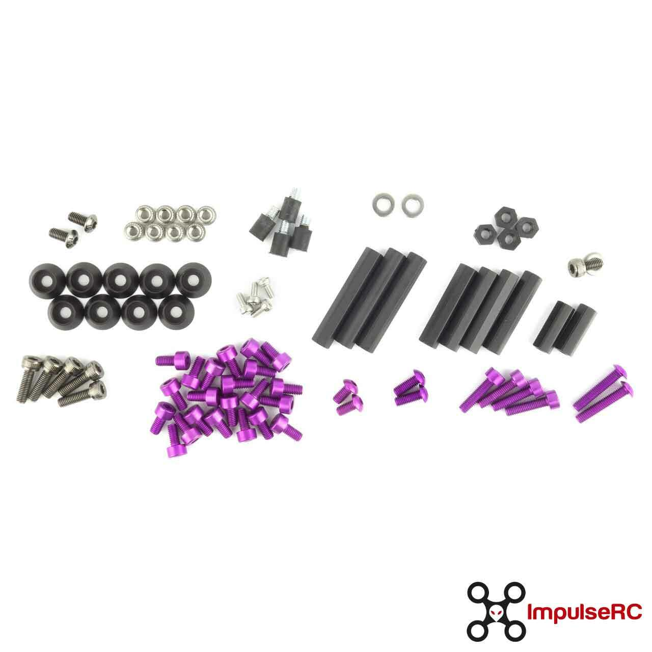ImpulseRC REVERB FULL SCREW PACK/PURPLE