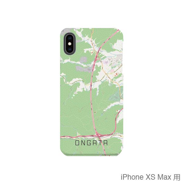 【恩方】地図柄iPhoneケース(バックカバータイプ・ナチュラル)