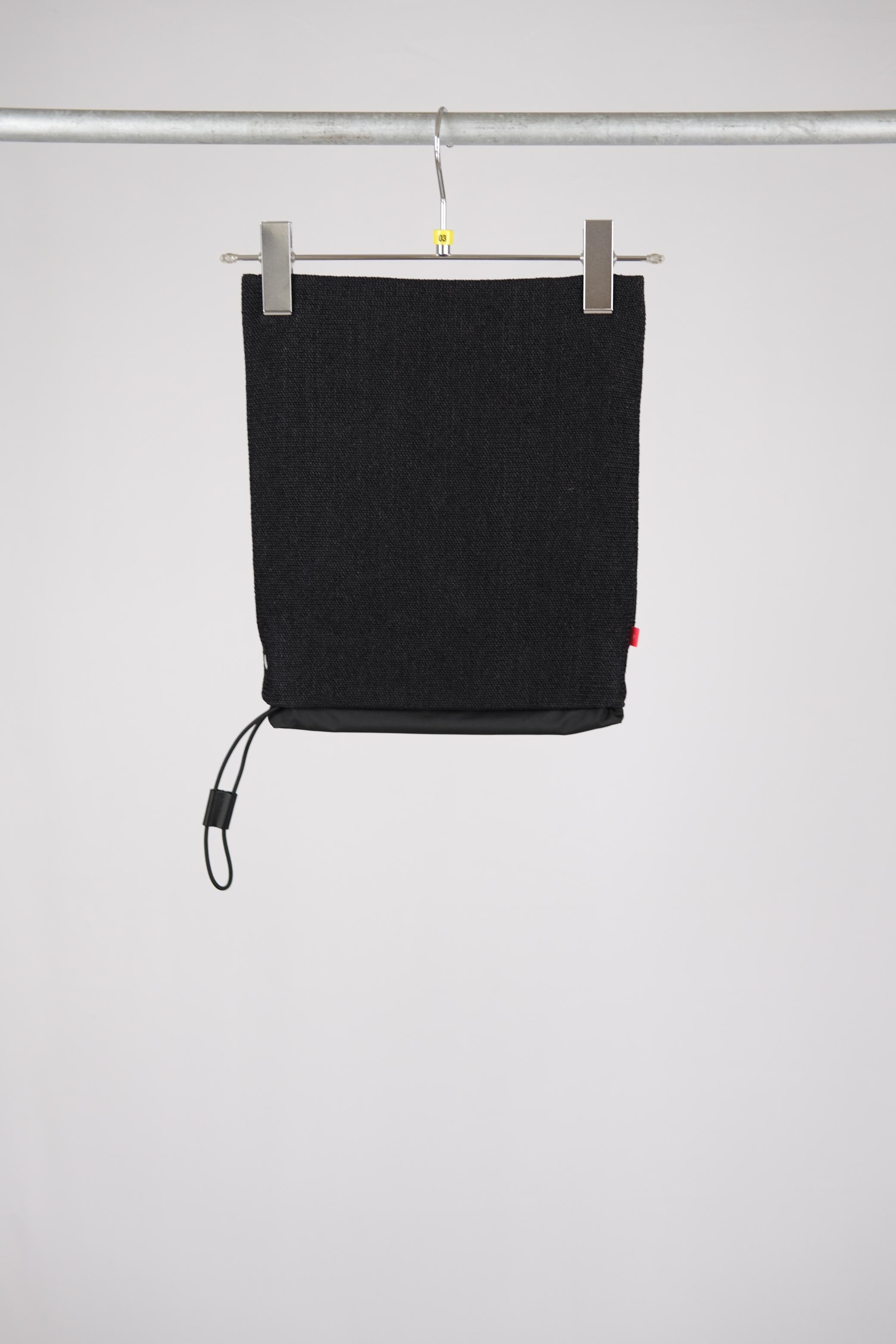 【AL】SHOULDER BAG - black(paper)