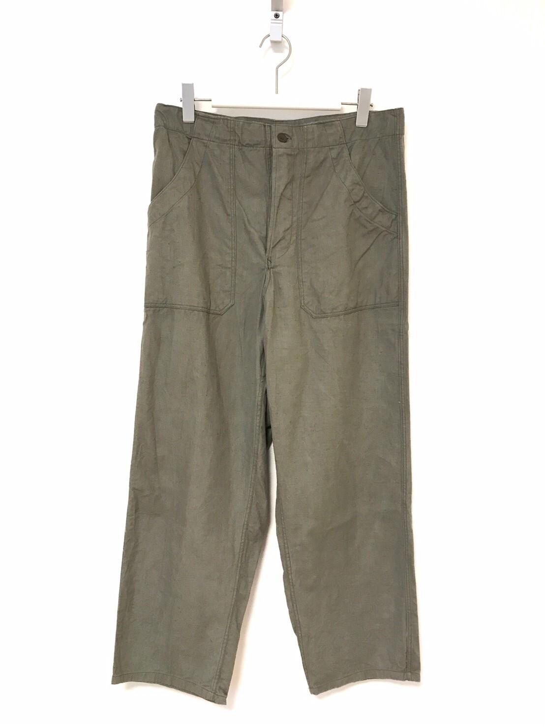 """① """"Dead Stock"""" Czech Army Baker Easy Pants"""