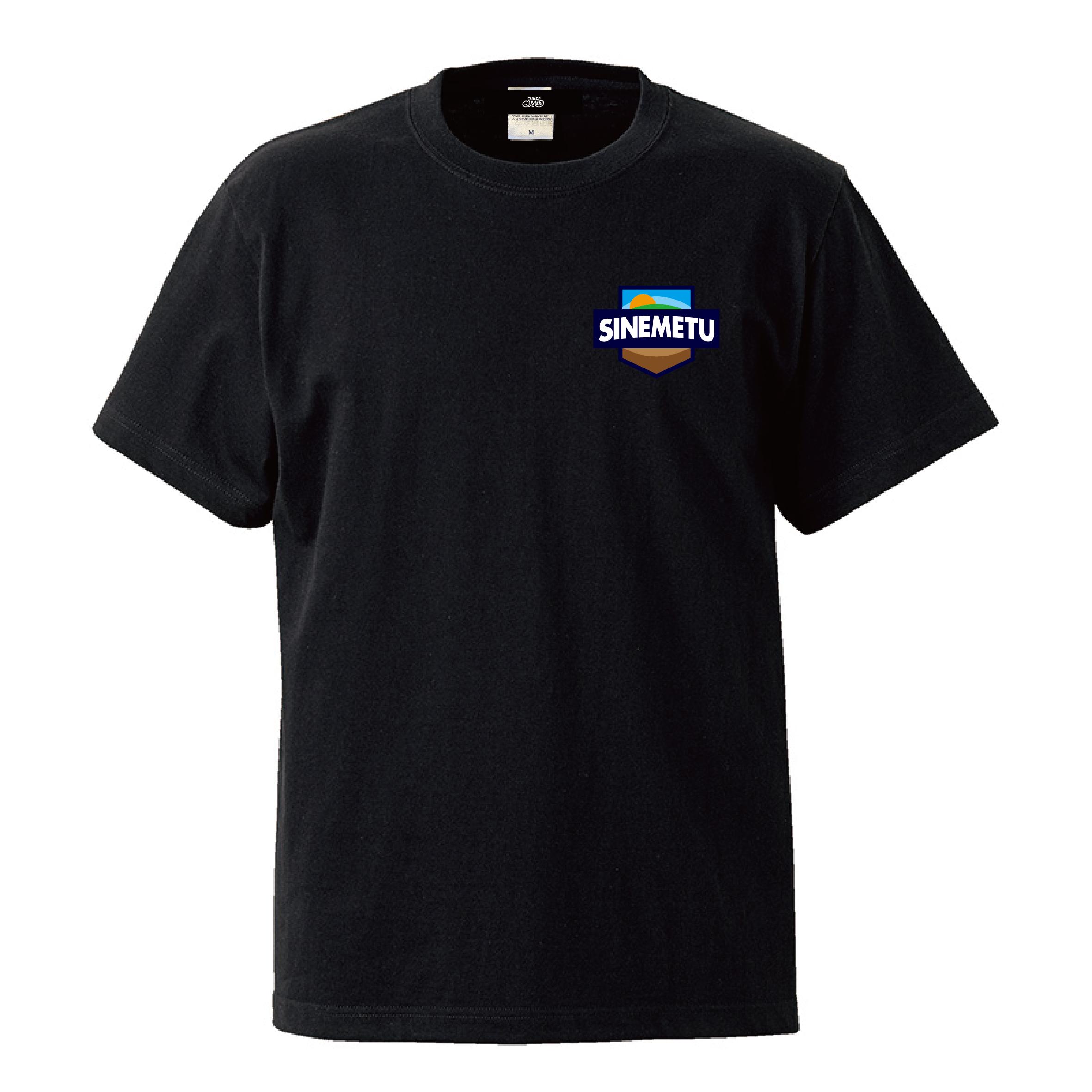 エンブレムTシャツ 半袖 / ブラック | SINE METU - シネメトゥ
