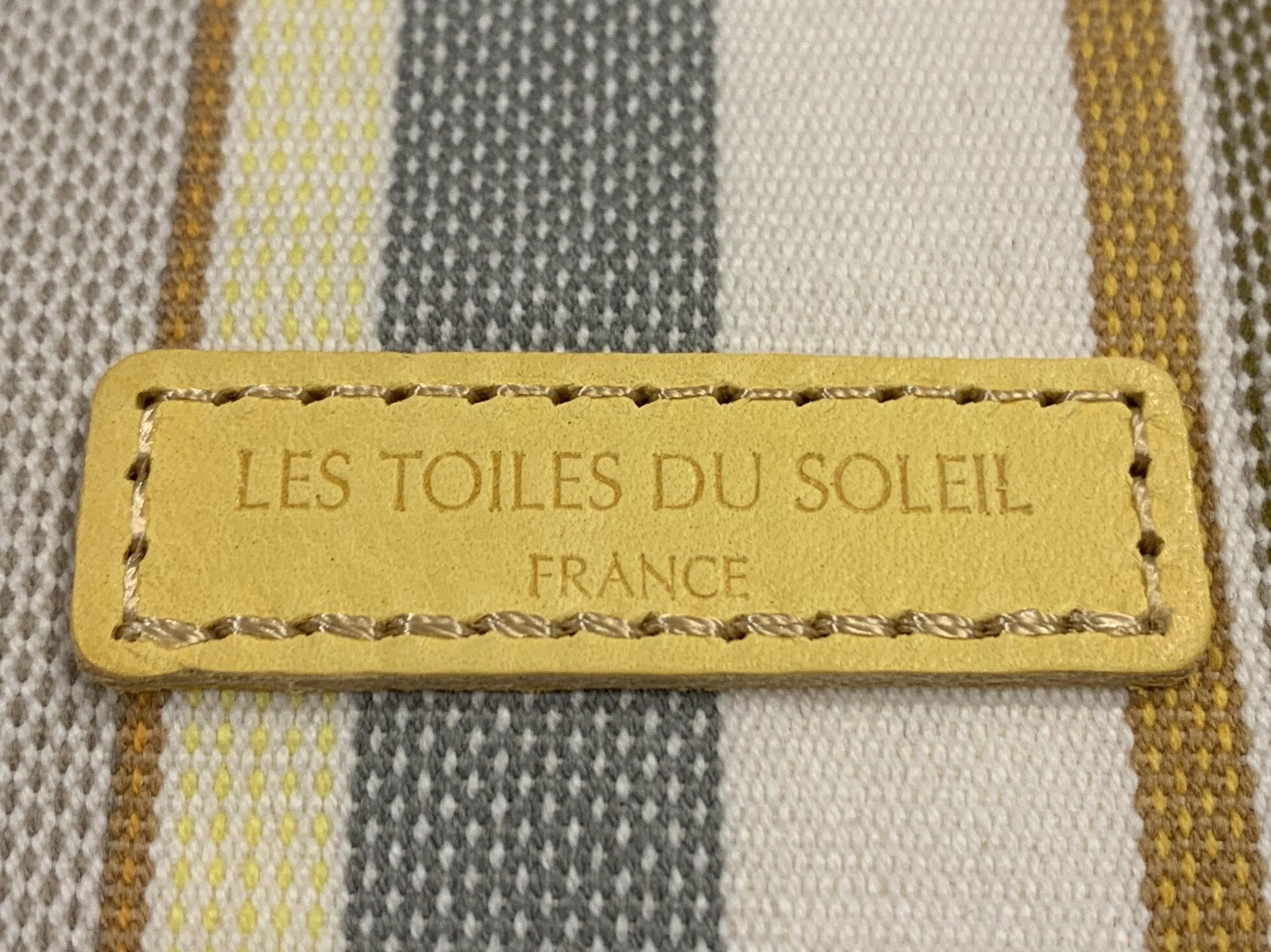 【LES TOILES DU SOLEIL】レザーミニウォレット Pt Trianon イエロー