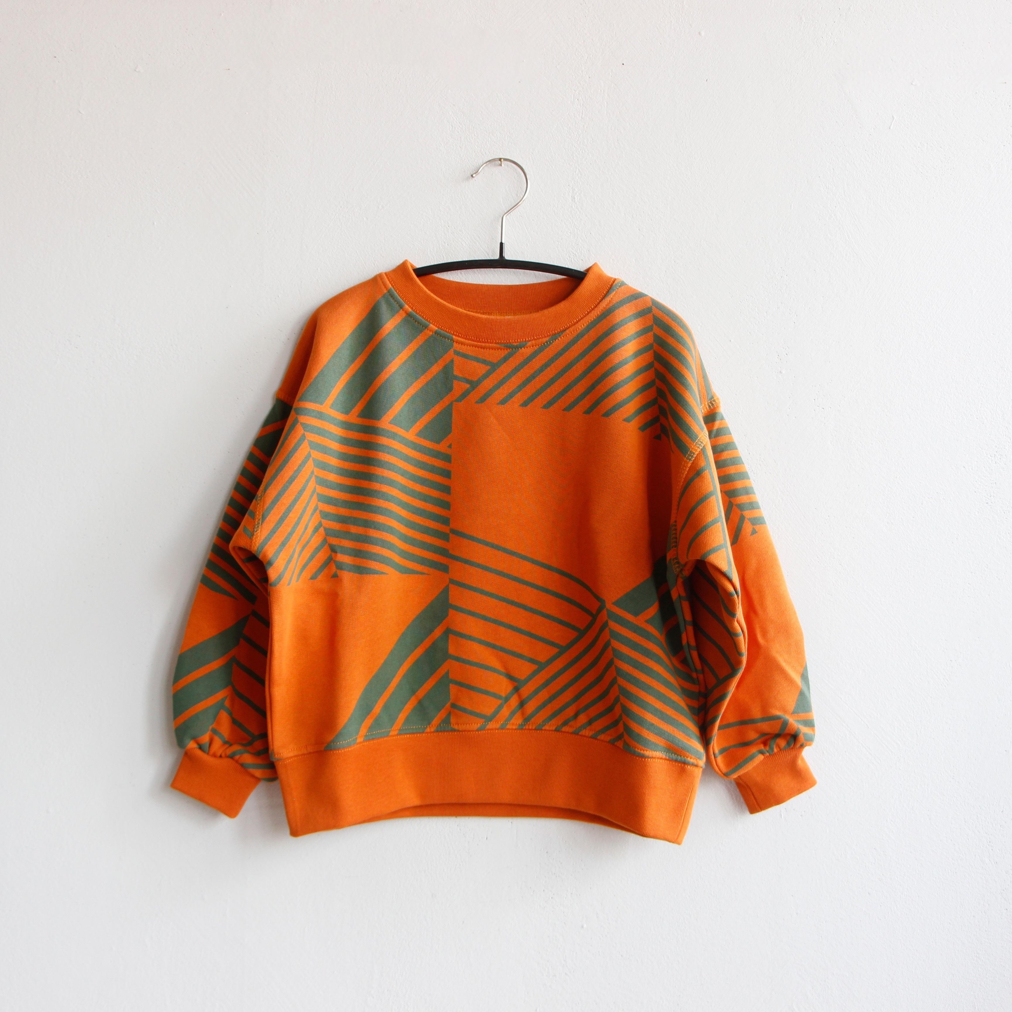 《main story 2020AW》Balloon Sweatshirt / autumn maple