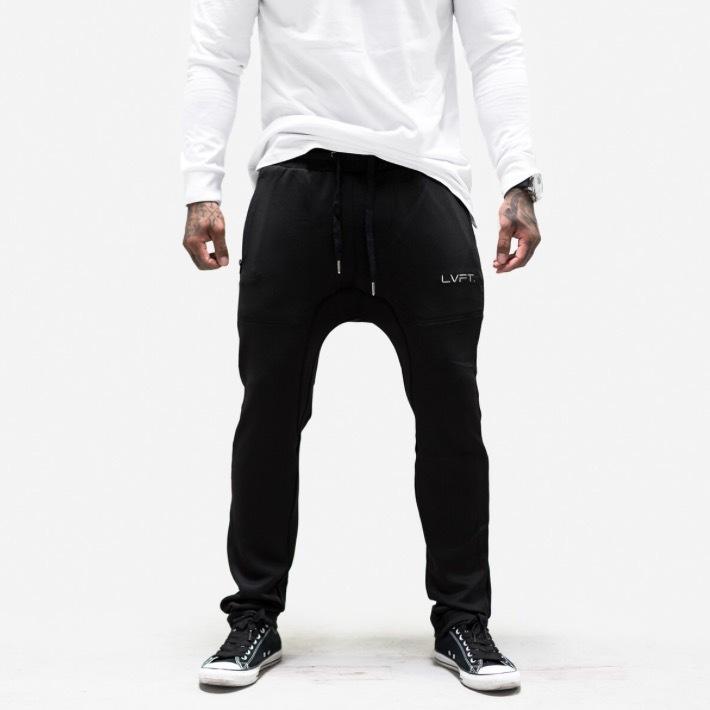 LIVE FIT Chino Tech-Pants