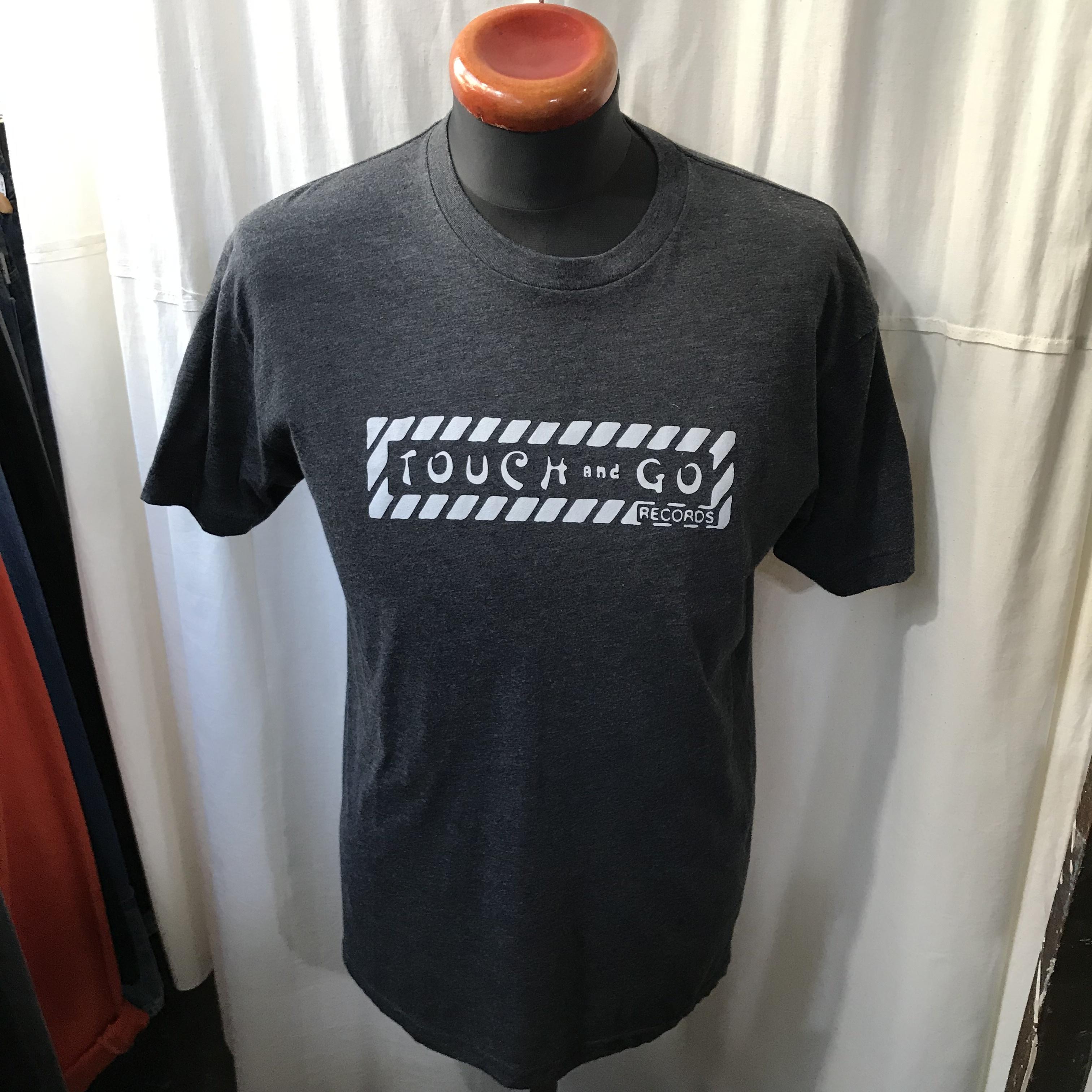アメリカ製 American Apparel TOUCH & GO RECORDS タッチ&ゴーレコーズ 半袖Tシャツ メンズM~L