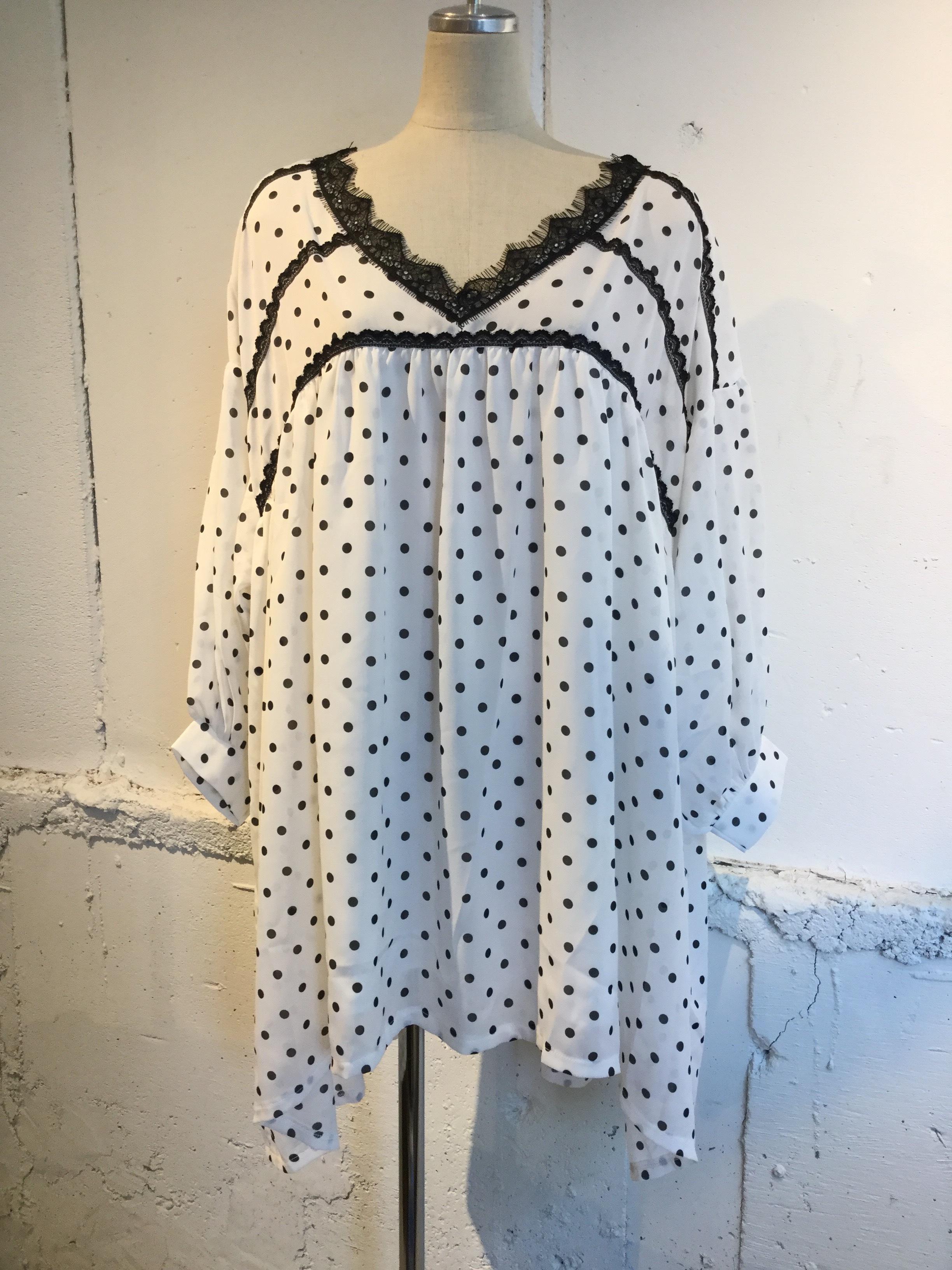 GHOSPELL Allegra Dot Dress