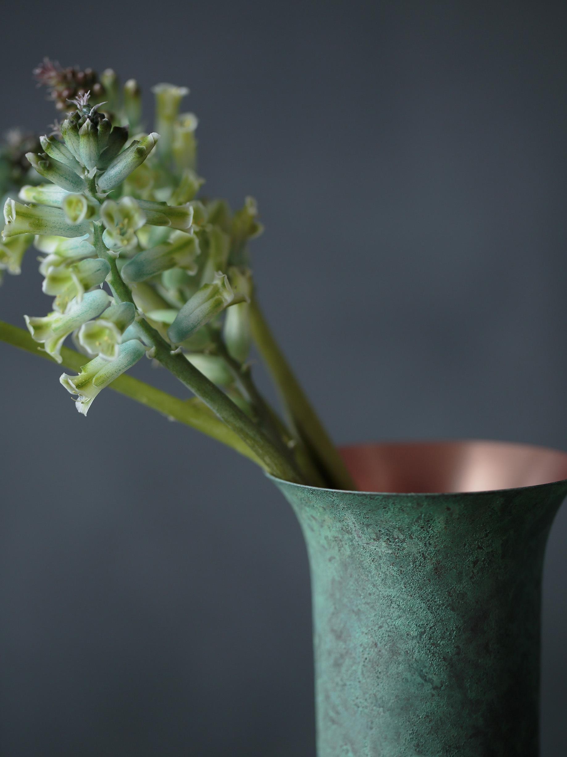 tone flower vase green - 画像3