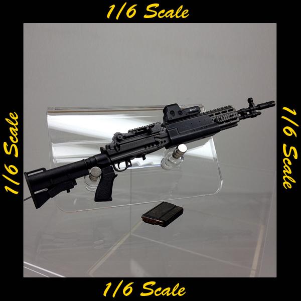 【00909】 1/6 ホットトイズ M14 EBR M4ストック
