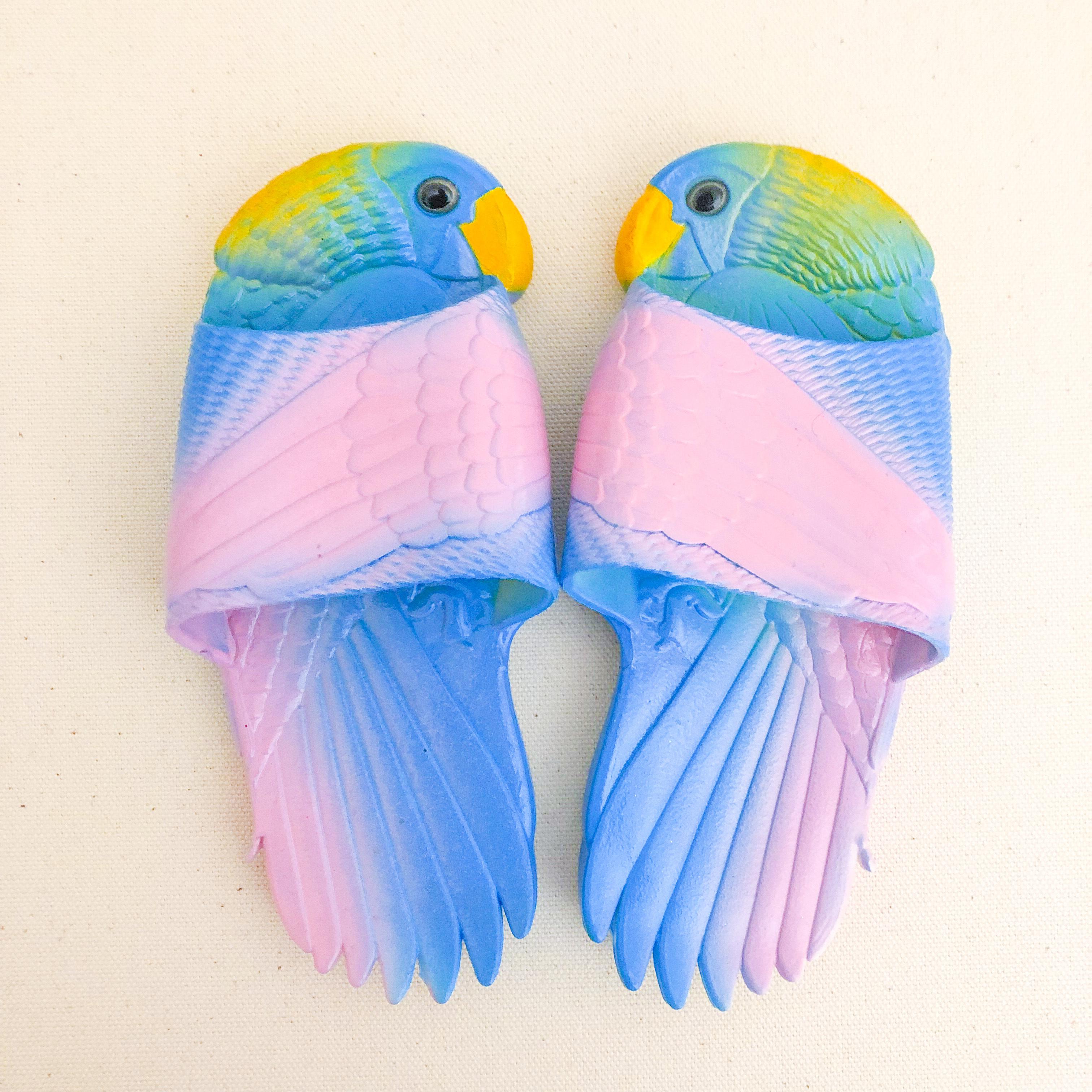 オウムサンダル / ブルー