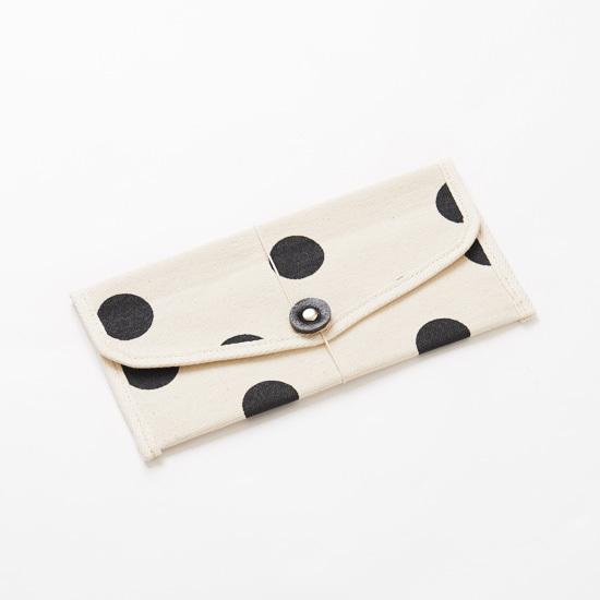 envelope x polka dot/ 封筒型ケース 水玉