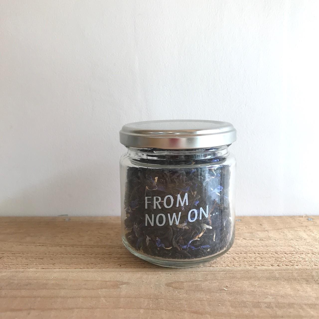 """【今だけ送料無料】"""" FNO Earl Grey flavored tea / アールグレー フレーバーティー ガラスS 30g """""""