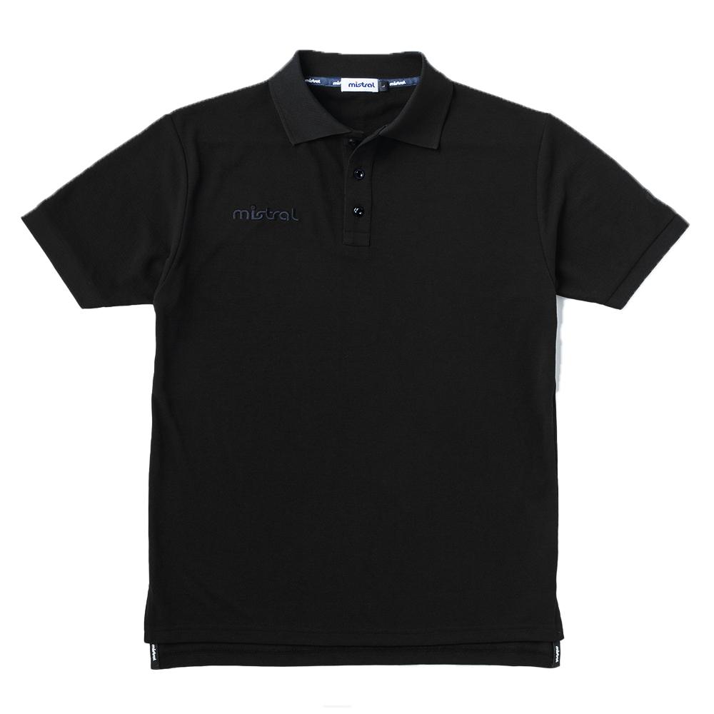 ミストラル メンズ [ ミストラルポロシャツ ] BLACK
