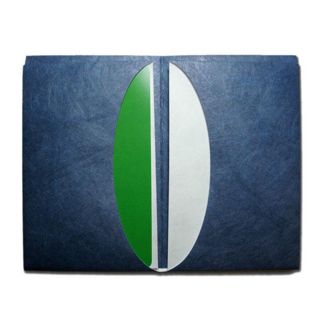 LIXTICK PAPER CARD HOLDER – NAVY  /  LIXTICK