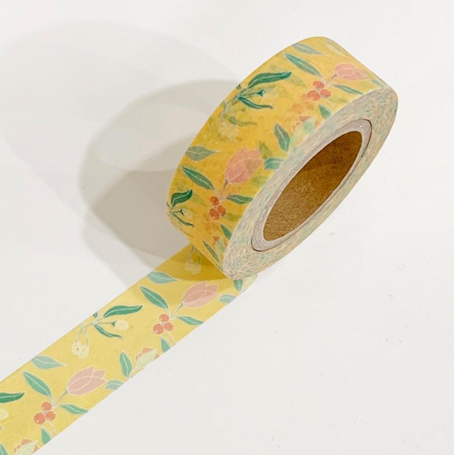 [OSY-27] vintage flower マスキングテープ