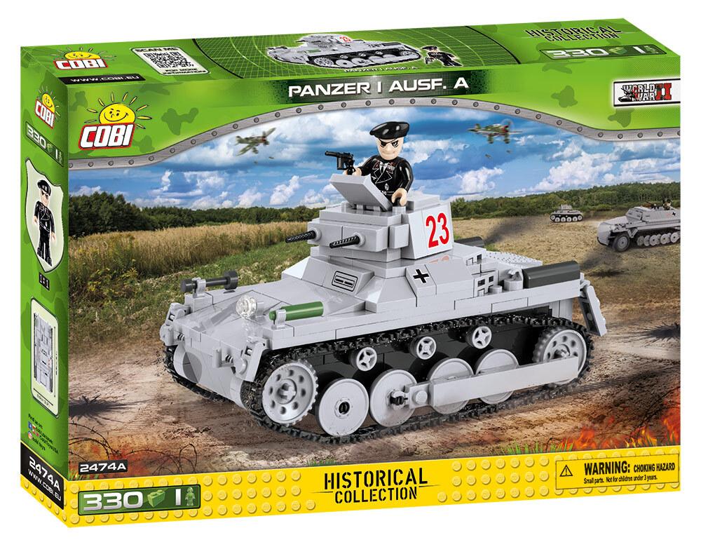 COBI #2474A I号A型 (Panzer I)