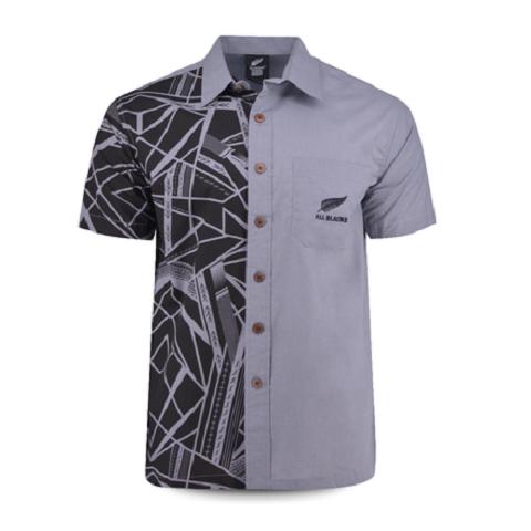 All BLACKS 2019 Aloha shirt Tribal Gray