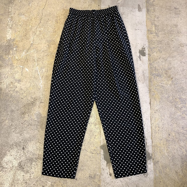 Vintage Dot Easy Pants Made in USA