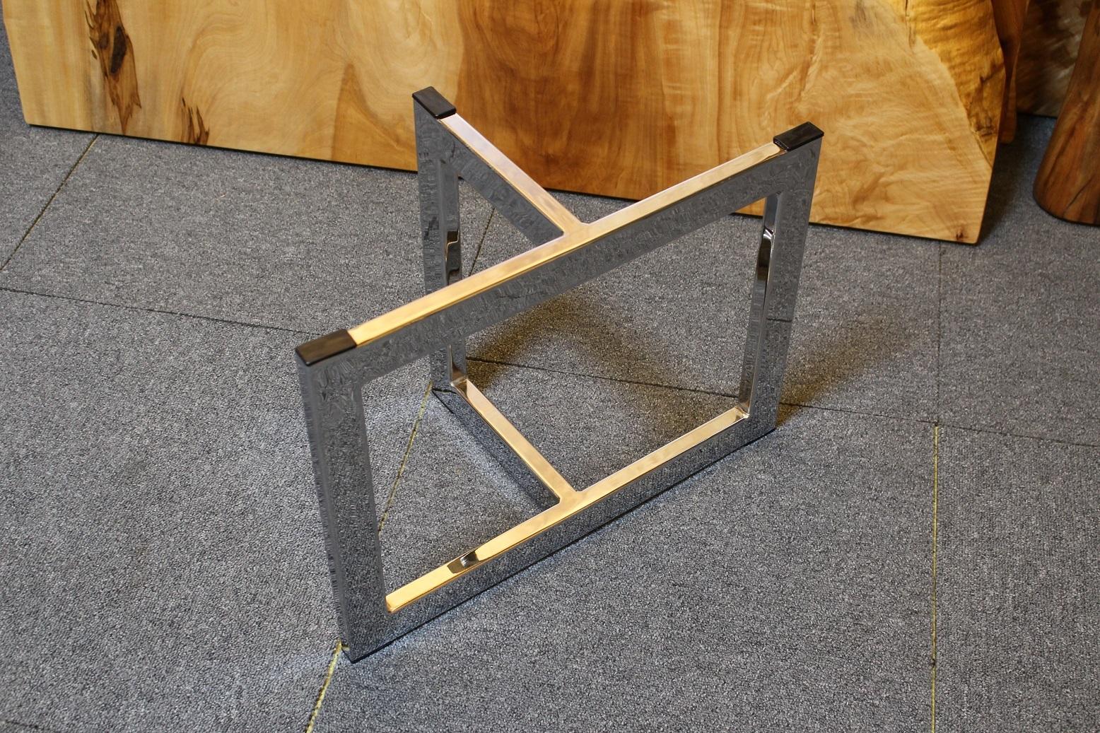 スチール脚 ローテーブル用 ブラック