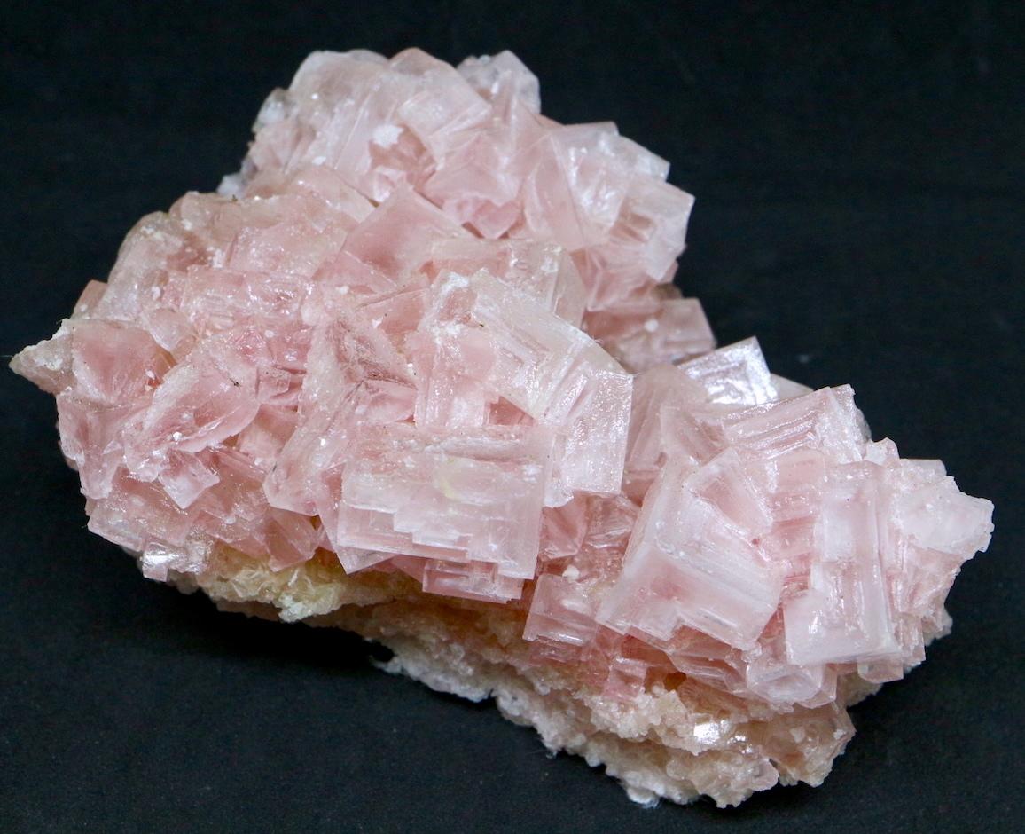 ピンクハーライト カリフォルニア産 126,8g 岩塩 PH058