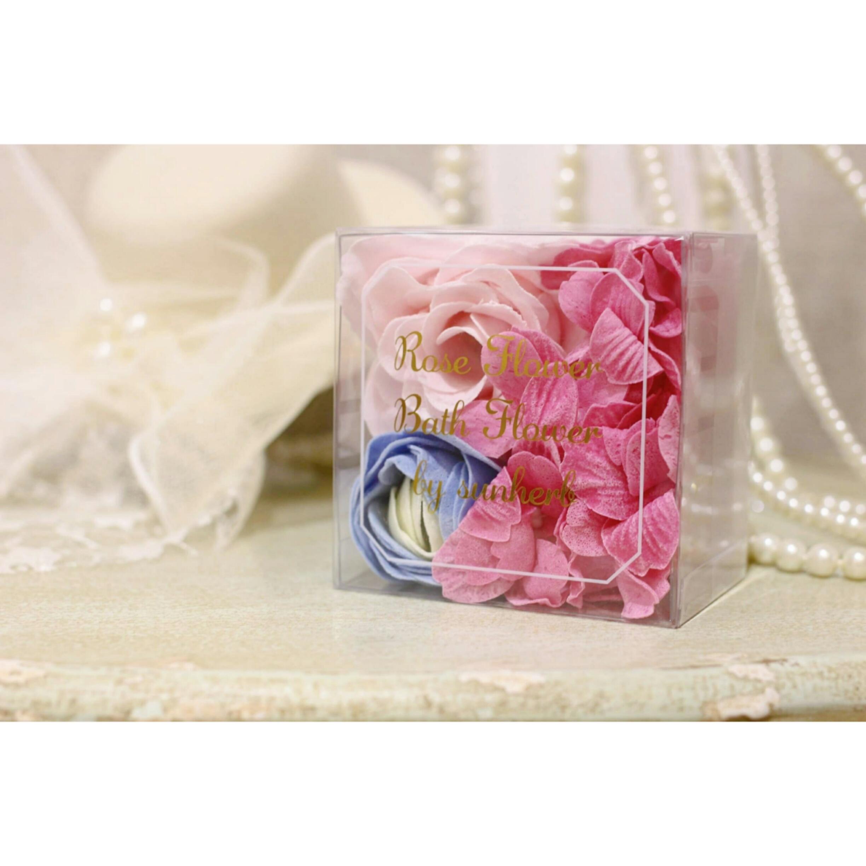 ローズフラワー:芳醇な花のアロマ香るバスフラワー【入浴剤】浜松雑貨屋 C0pernicus