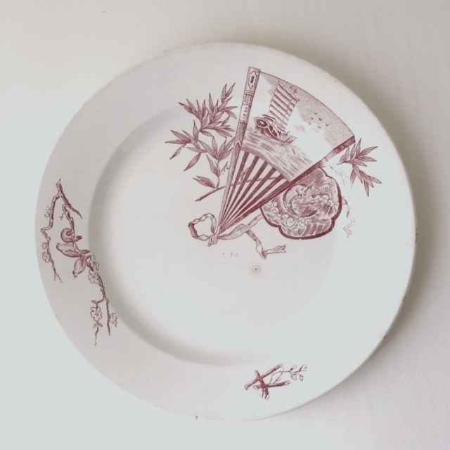 NIMY dinner plate・c / uv0006
