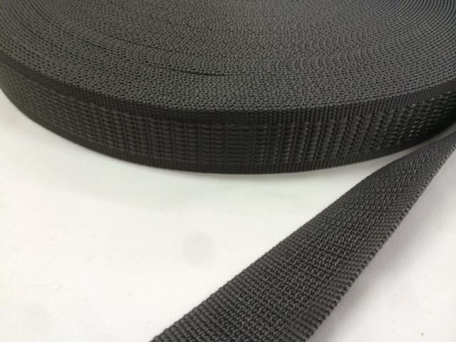 PP ポリプロピレン ベルト テープ 段織 30㎜幅 黒 1巻50m