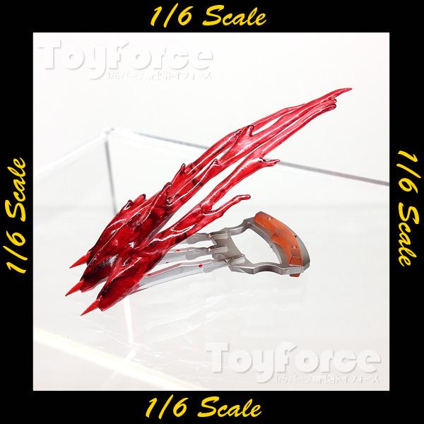 【02862】 1/6 DAMToys GK11 エフェクト付き鉤爪型ナイフ