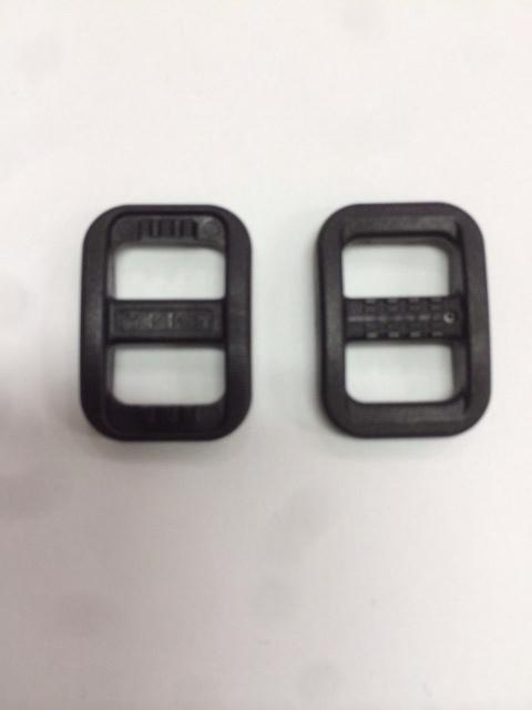 カメラストラップ用 YKK アジャスター 10mm用 LA10T 黒 2個セット