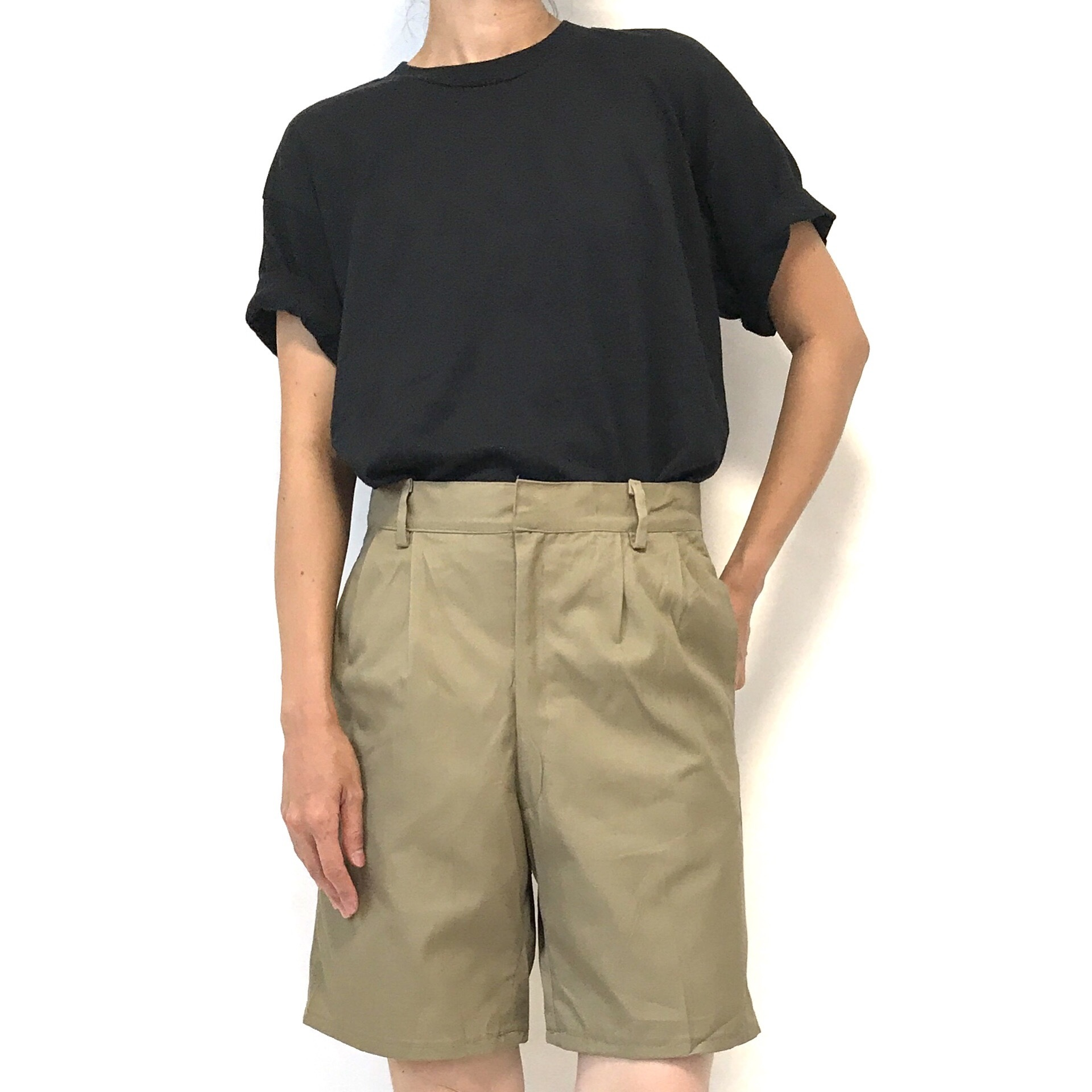 ⑦ Dead Stock 80's A.M.I. Chino Short Trousers 46